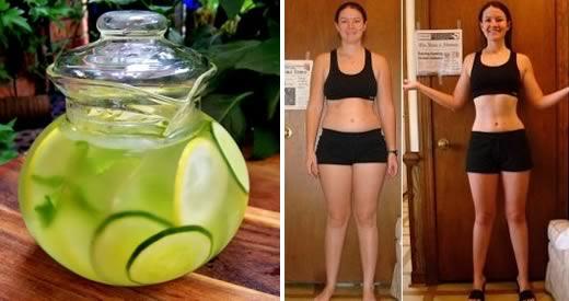 Comment perdre du poids avec du concombre