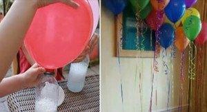 Comment gonfler un ballon avec du bicarbonate de soude
