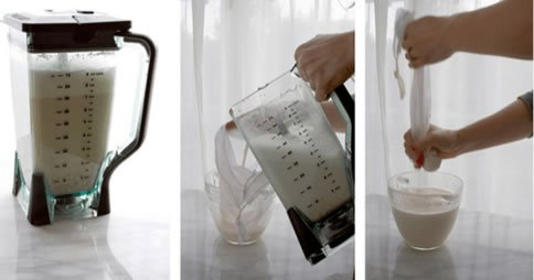 Recette: Comment faire du lait d'amande à la maison